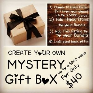 Other - Bundle and Create your own Mystery Box 10 Items